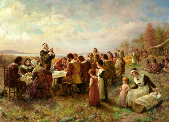 Seven signs of God's Providence with the Pilgrims